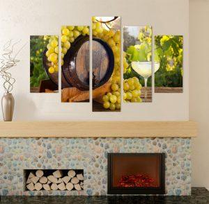 картина от 5 части; картина от пет части; картина от сектори; картина от части; картина бяло вино; бяло вино; картина вино; картина с храни и напитки; картина с животни; напитки; картина с висока резолюция; канаваца; канава; картина; картина за заведения; картина за ресторанти; картина за стена; картина на канава; картина на PVC; картини за заведения; декоративно пано; декорация за стена; висококачествен печат; снимка върху платно;