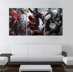 картина от 5 части; картина от пет части; картина от сектори; картина от части; Марвел гражданска война; картина супергерои Марвел; Марвел комикст; комикс герой; картина по комики; супергерой; картина супергерои; картина; канава; канаваца; картина на канава; картина на PVC; pvc пано; декоративно пано; декорация за стена; висококачествен печат; картина с висока резолюция;