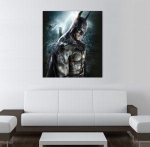 Батман; Картина Батман; картина супергерои; супергерой; картина по комикси; комикс герой; декоративно пано; декорация за стена; картина с висока резолюция; висококачествен печат;