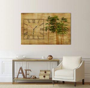 картина с винтидж часовник; винтидж часовник; винтидж картина; бамбук; часовник на пергамент; картина с часовник; картина с часовников механизъм; декоративно пано; декорация за стена; висококачествен печат; картина с висока резолюция; картина винтидж с часовник