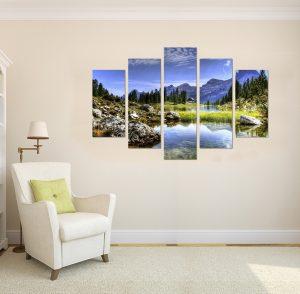 картина от 5 части; картина от пет части; картина от сектори; картина от части; природна гледка; картина природна гледка; картина природа; природа; природен пейзаж; изумителна гледка; невероятна гледка; картина; канава; канаваца; картина на канава; pvc пано; декоративно пано; декорация; декорация за стена; висококачествен печат; картина с висока резолюция;