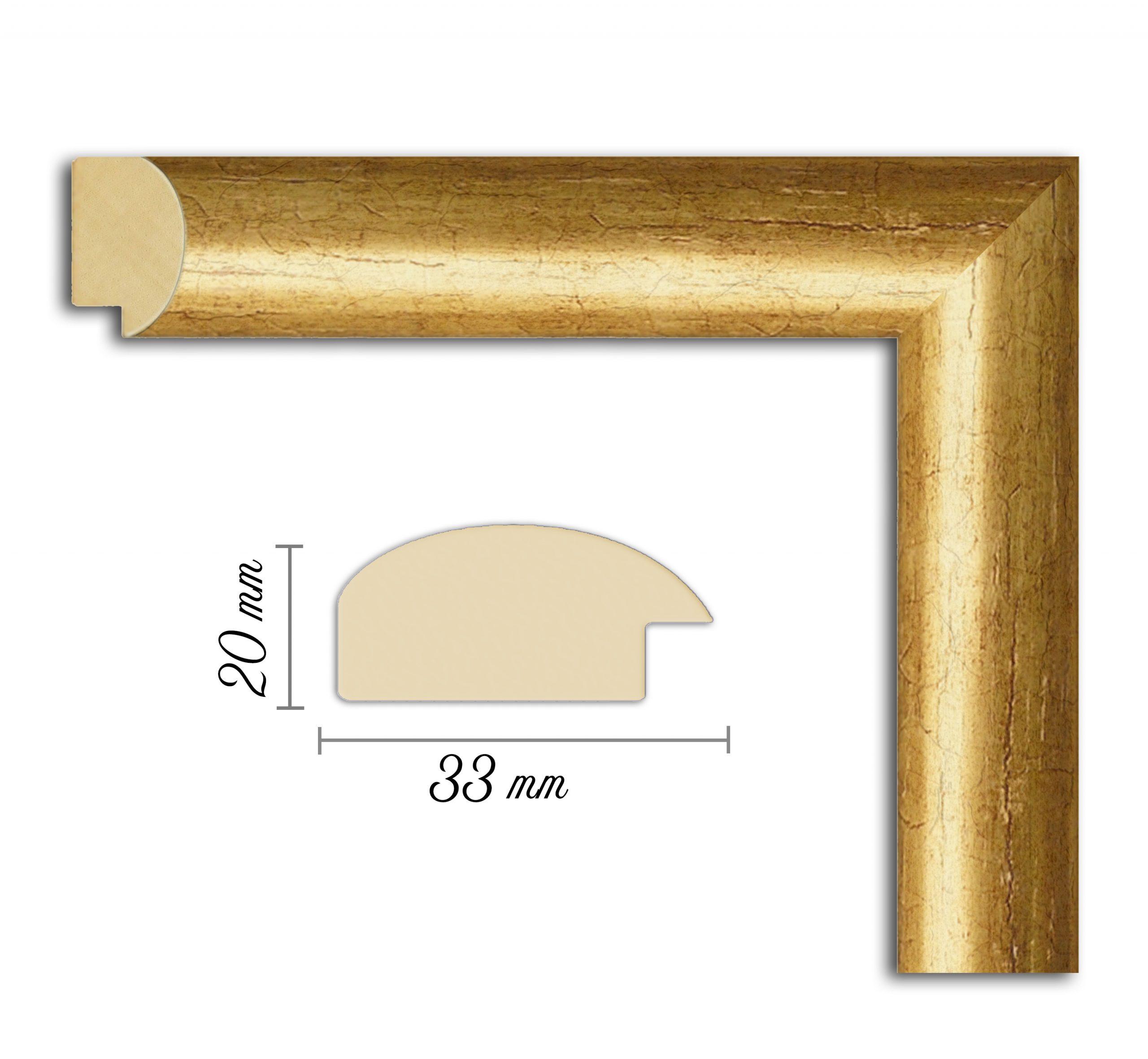Дървен профил 05-33, Дървени профили за рамки, рамкиране, рамки за картини, рамки за гоблени, профили за рамки, профили за рамкиране, рамки от дърво, дървени рамки, профили за рамки, профили за рамкране, рамкиране на картини; златна рамка, златна дървена рамка, златист профил за рамка, златиста рамка от дърво; Дървен профил златен, златиста рамка, златен прфил за рамка