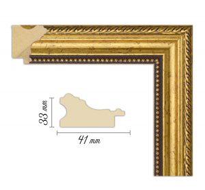 Дървен профил 05-41, Дървени профили за рамки, рамкиране, рамки за картини, рамки за гоблени, профили за рамки, профили за рамкиране, рамки от дърво, дървени рамки, профили за рамки, профили за рамкране, рамкиране на картини; златна рамка, златна дървена рамка, златист профил за рамка, златиста рамка от дърво; Дървен профил златен, златиста рамка, златен прфил за рамка, златен прфил с орнаменти, златна рамка орнаменти, златна рамка дърворезба