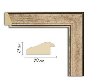 Дървен профил 08-40, Дървени профили за рамки, рамкиране, рамки за картини, рамки за гоблени, профили за рамки, профили за рамкиране, рамки от дърво, дървени рамки, профили за рамки, профили за рамкране, рамкиране на картини; рамка платинена, Сребърен профил за рамка, рамка, рамка платинена, платинена рамка; Рамка сребърна, профил за рамка.